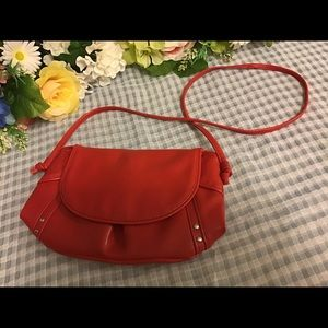 Red Clairins Cross Body NWOT